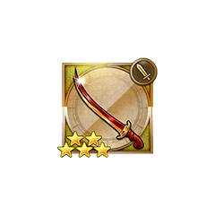 Flame Sword in <i>Final Fantasy Record Keeper</i> [FFIV].