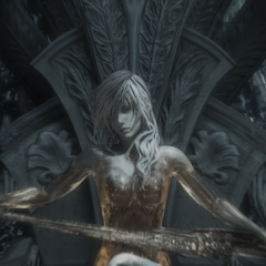 Close-up of Lightning in crystal stasis.