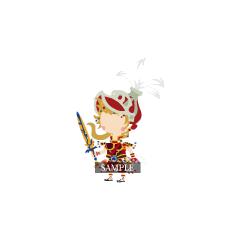 Onion Knight in <i>Kingdom Hearts Mobile</i>, based on the <i>Dissidia</i> character.