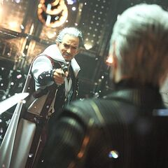 Crystal fragments appearing in <i>Final Fantasy XV</i>.