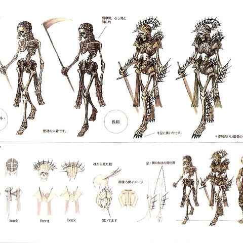 Skeleton concept art.