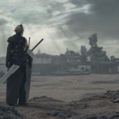 <i>Final Fantasy VII Advent Children</i>.