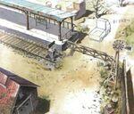 D District Prison Train Station FFVIII Art
