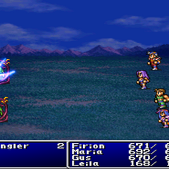 Ice3 in <i>Final Fantasy II</i> (PS).