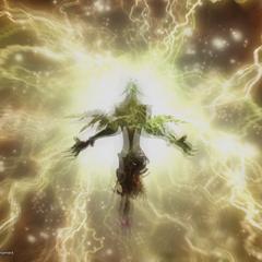 Adrammelech's special attack, Thundaja.