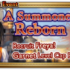 Global event banner for A Summoner Reborn.