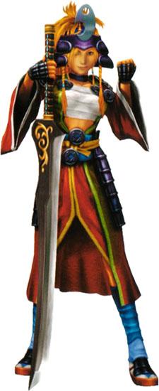 image rikku the samuraijpg final fantasy wiki