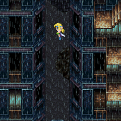 Jumping between buildings (iOS/Android/PC).