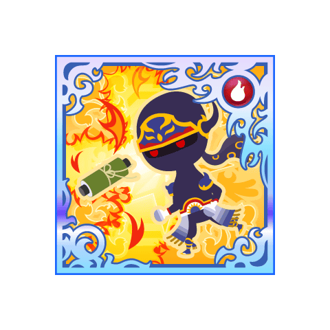 Flame Scroll. (SSR)