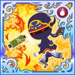 FFAB Throw (Flame Scroll) - Shadow SSR