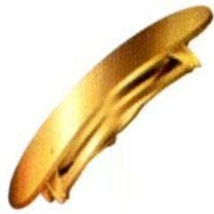 Gold Barrette in <i><a href=