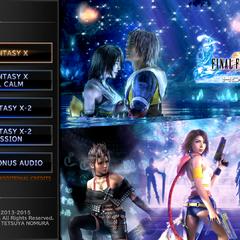 <i>Final Fantasy X/X-2 HD Remaster</i> (PS4).