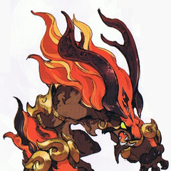 Ifrit concept art.
