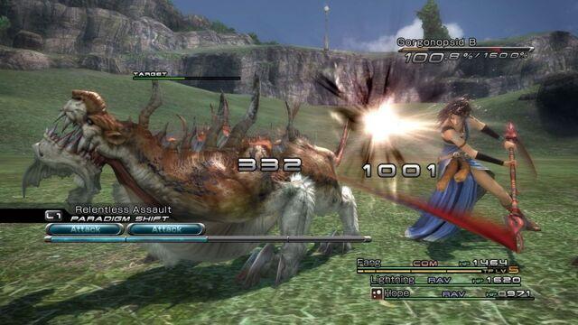 File:Fang attacks gorgonopsid.jpg