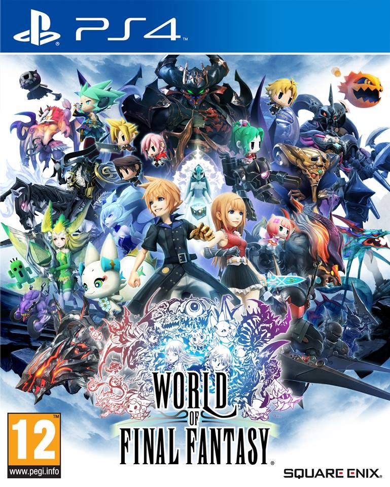 Kết quả hình ảnh cho World of Final Fantasy ps4