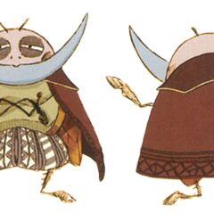 Concept artwork of Cid as an oglop.
