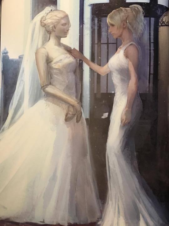 Image Luna Wedding Dress Concept Art Png Final Fantasy Wiki