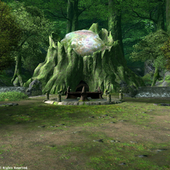 Nophica's Altar in Gridania.