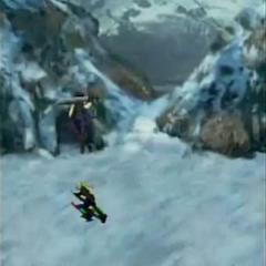Great Glacier in <i>Before Crisis -Final Fantasy VII-</i>.