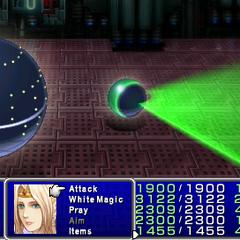 Laser Barrage in <i><a href=