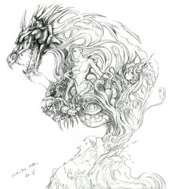 Melusine FFV Nomura Art