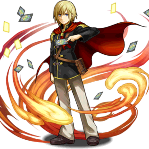 Ace in <i>Puzzle &amp; Dragons</i>.