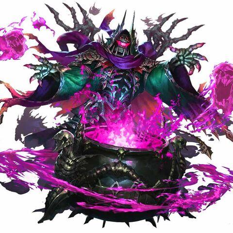 Hades (God) artwork.