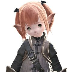 A female Lalafell.