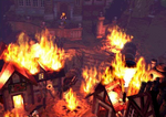 Nibelheim in flames