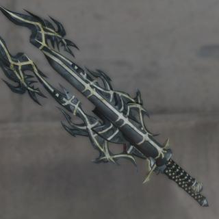 New model of dual blades Noel uses against Lightning.