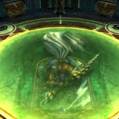 Chamber of the Fayth in <i>Final Fantasy X</i>.
