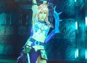 LRFFXIII Sorceress Costume Battle