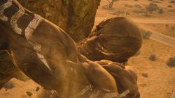 FFXV Afrojack Trailer Titan Lifting Rock
