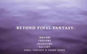Beyond final fantasy