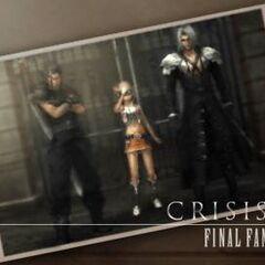 The photo in <i>Crisis Core -Final Fantasy VII-</i>.
