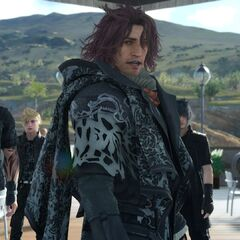 Ardyn meeting the party.