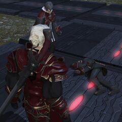 Nero's gunblade.