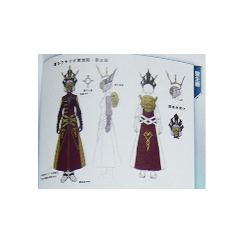Concept art of the Order's High Priestess.