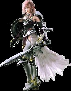 Lightning dans Final Fantasy XIII-2