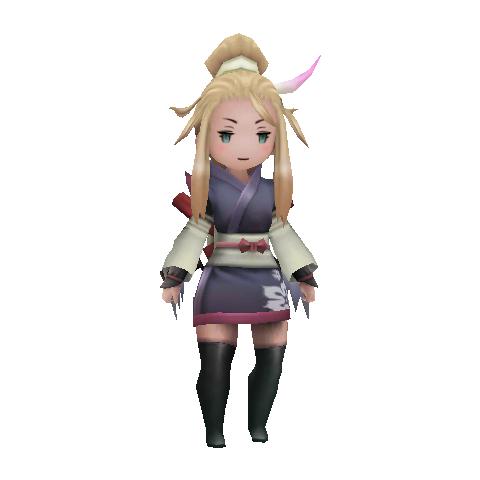 Edea as a Ninja