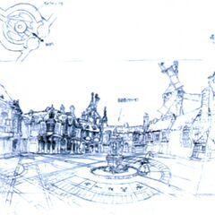 Alexandria town square.