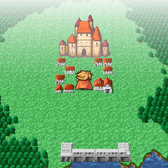 Elfheim on the World Map (PSP).