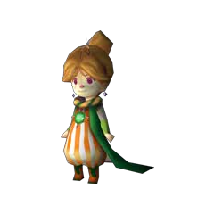 Porom the White Mage in <i>Final Fantasy IV</i> (DS).