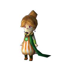 In-game model of Porom (DS)