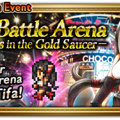 The Battle Arena's global event banner.