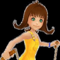 Appearance in <i>Kingdom Hearts</i>.