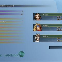 <i>Final Fantasy X-2 HD Remaster</i> (PS3).