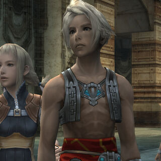 Kytes with Vaan and Penelo.