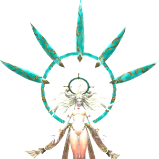 Altana as she appears in Rhapsodies of Vana'diel.