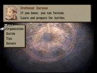 FFT Tutorial Menu